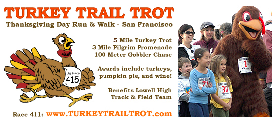 San Francisco Thanksgiving Run & Walk